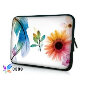 """Huado pouzdro na notebook do 10.2"""" Pírko a květiny"""