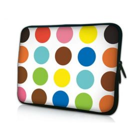 "Huado pouzdro na notebook do 12.1"" Polka dots"