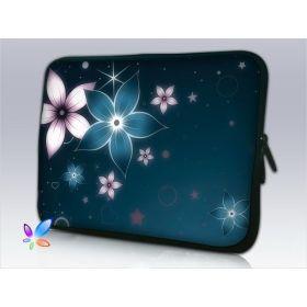 """Huado pouzdro na notebook do 13.3"""" Modré kvítí"""