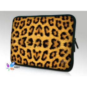 "Huado pouzdro na notebook do 14.4"" Leopadrí motiv"