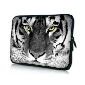 """Huado pouzdro na notebook do 14.4"""" Tygr černobílý"""