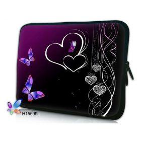 """Huado pouzdro na notebook do 15.6"""" Dvojité srdce"""