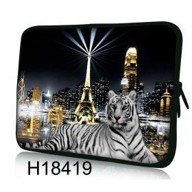 Huado pouzdro na notebook do 15.6 Bílý tygr