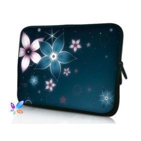 """Huado pouzdro na notebook do 15.6"""" Modré kvítí"""