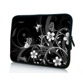 """Huado pouzdro na notebook do 15.6"""" Květiny a motýlci"""
