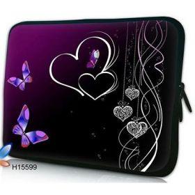 """Huado pouzdro na notebook do 17.4"""" Dvojité srdce"""