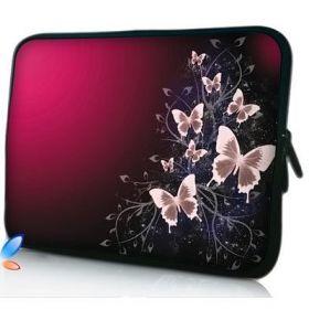 """Huado pouzdro na notebook do 17.4"""" Motýlci v bordo"""