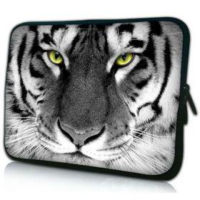 """Huado pouzdro na notebook do 17.4"""" Tygr černobílý"""