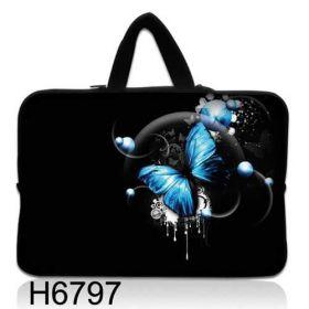 """Huado taška na notebook do 10.2"""" Modrý motýl"""