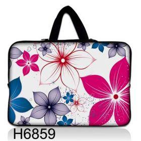 """Huado taška na notebook do 12.1"""" Květiny na jaře"""