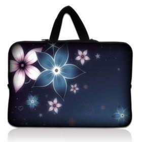"""Huado taška na notebook do 13.3"""" Modré kvítí"""