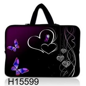 """Huado taška na notebook do 13.3"""" Dvojité srdce"""