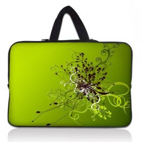 """Huado taška na notebook do 13.3"""" Zelený rozkvět"""