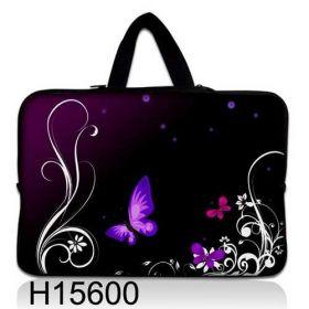 """Huado taška na notebook do 14.4"""" Purpurový motýlci"""