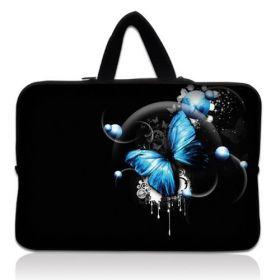 """Huado taška na notebook do 15.6"""" Modrý motýl"""