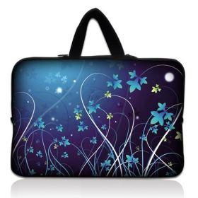 """Huado taška na notebook do 15.6"""" Modré květy"""