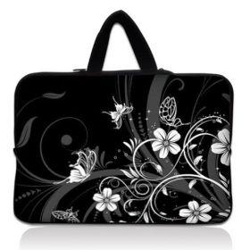 """Huado taška na notebook do 15.6"""" Květiny a motýlci"""
