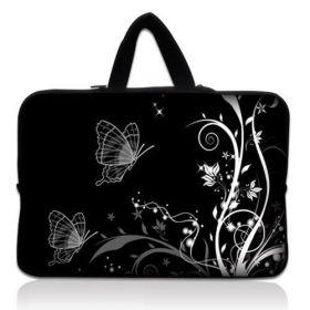 """Huado taška na notebook do 15.6"""" Černobílý motýlci"""