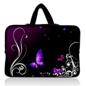 """Huado taška na notebook do 15.6"""" Purpurový motýlci"""