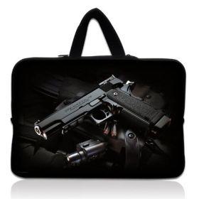 """Huado taška na notebook do 17.4"""" Revolver 9 mm"""