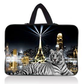 """Huado taška na notebook do 17.4"""" Bílý tygr"""
