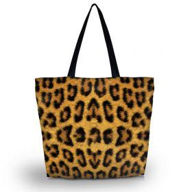 Nákupní a plážová taška Huado - Leopard