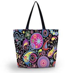 Nákupní a plážová taška Huado - Picasso style