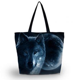 Nákupní a plážová taška Huado V znamení vlka