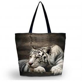 Nákupní a plážová taška Huado - Tygr sibiřský