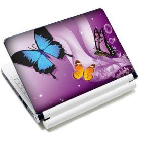 """Samolepka, skin Huado pro notebook 12""""-15,6"""" Motýlci ve fialové"""