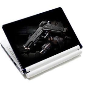 "Samolepka, skin Huado pro notebook 12""-15,6"" Revolver 9 mm"