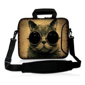 """Taška přes rameno Huado do 15.6"""" Kočka"""