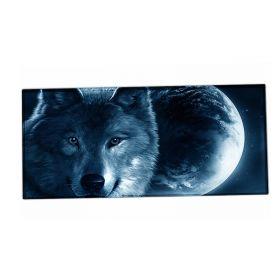 XXL podložka pod myš HUADO Vlk a měsíc